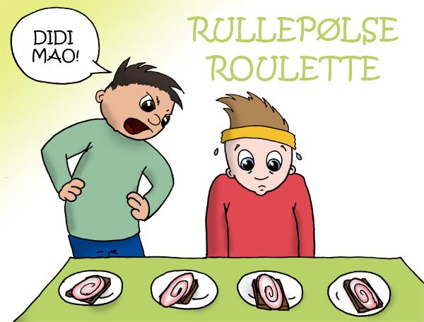 Rullepølse roulette